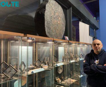 Το διάστημα επί Γης…στο Μουσείο Μετεωριτών
