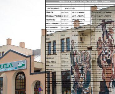Τα νέα δρομολόγια του Υπεραστικού ΚΤΕΛ Μαγνησίας, με ισχύ από 28/3