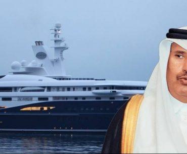 Στη Σκιάθο ο σεΐχης του Κατάρ με την υπερπολυτελή θαλαμηγό του