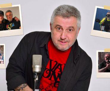 """Στάθης Παναγιωτόπουλος: Ο κουρσάρος των """"ερτζιανών"""", λάτρης της Αλοννήσου και των Deep Purple στο R"""